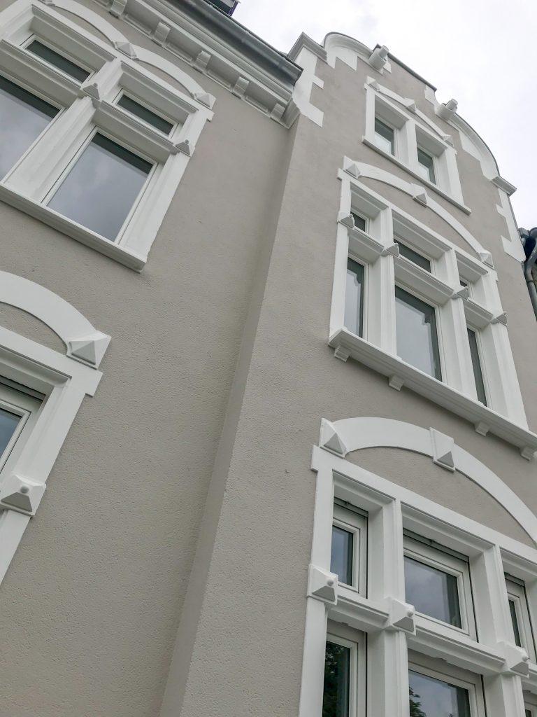 Fassadenansicht der Ferienwohnung NUMBERSIXTEEN in Trier